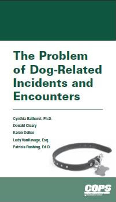 Ebook: The Problem of Dog-Related Incidents and Encounters