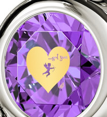 Nano Jewelry Cupid's Got You Silver Heart Necklace
