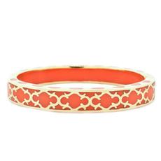 Andrew Hamilton Crawford Orange Harmony Coral and Gold Bracelet