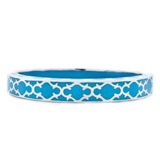 Blue Hamilton Crawford Jewelry Harmony Turquoise and Silver Bracelet