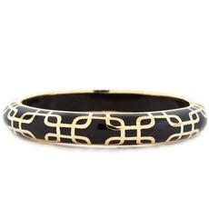 Andrew Hamilton Crawford Sailor Black and Gold Bracelet