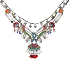 White Ayala Bar Long Odyssey Necklace