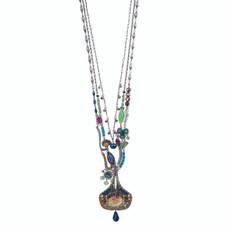 Ayala Bar Long and Layered Blue Horizon Necklace