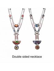 Ayala Bar Aphrodisia Swell Sunburst Double-sided Necklace