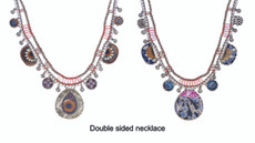 Ayala Bar Mojo Bossa Sunny Day Double-sided Necklace