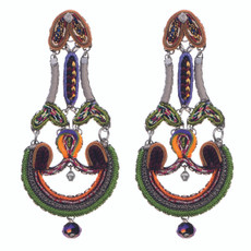 Ayala Bar Beg for More Begonia Earrings