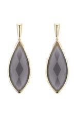 Marcia Moran Grey Earrings Carven