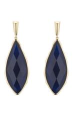 Marcia Moran Jewelry Carven Blue Earrings