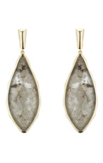 Marcia Moran Jewelry Carven Grey Earrings