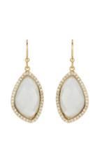 Marcia Moran Jewelry Lilly White Earrings