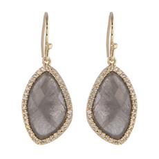 Grey Marcia Moran Jewelry Lilly Style Earrings