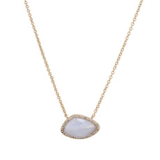 Marcia Moran Jewelry Valencia Blue Necklace