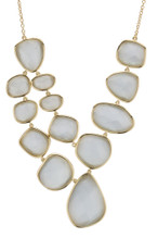 Grey Marcia Moran Jewelry Steller Necklace
