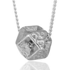 HaAri Jewelry Reverse Merkaba small Secret Silver Kabbalah Pendant