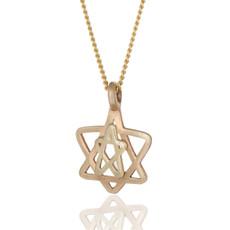 Haari Kabbalah Jewelry Star Of David Pendant and Seal of Solomon