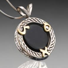 Haari Pendant For Prosperity with Onyx