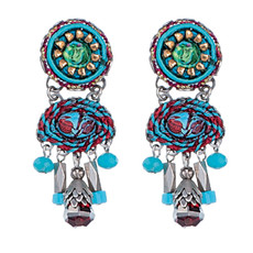 Ayala Bar Coral Cave Cherry Picking Earrings
