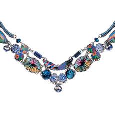 Blue Insight style necklace by Ayala Bar Jewelry