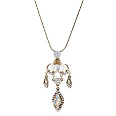 Michal Negrin Raindrop Necklace - Multi Color