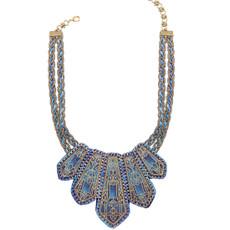 Michal Negrin Blue Spirited Necklace