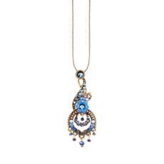 Michal Negrin Blue Nola Necklace