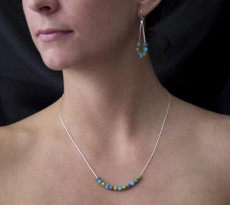 Encanto Dulcet Blue Necklace