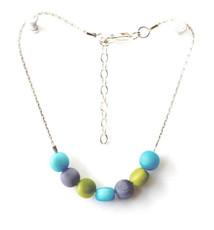 Blue Dulcet style bracelet by Encanto Jewelry