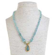 Aqua Sensation Necklace by Nava Zahavi