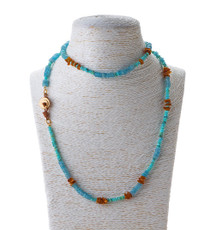 Amber Love Necklace by Nava Zahavi