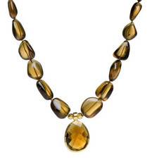 Cognac Necklace by Nava Zahavi