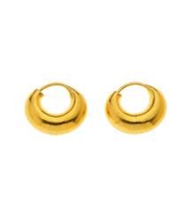 Bombay 18K Gold Gypsy Earrings by Nava Zahavi