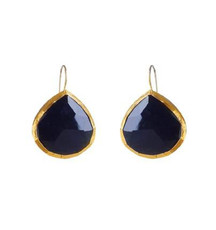 Black Night Earrings by Nava Zahavi