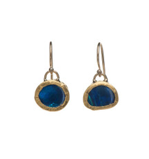 Captive Opal Earrings by Nava Zahavi