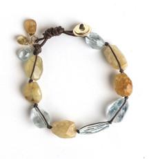Magnificent Aquamarine Bracelet