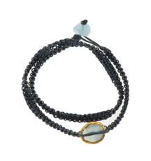 Stormy Aquamarine Bracelet