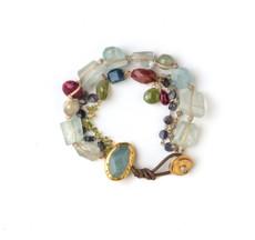 Happiness Aqua Bracelet