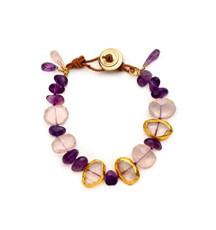 Amethyst Lovers Bracelet