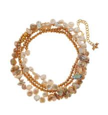 Golden Waves Bracelet