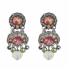 Ayala Bar Como Tiny Petal Of A Rose Earrings
