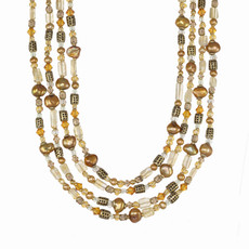 Michal Golan Citrine Long Necklace