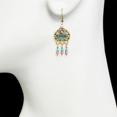 Michal Golan Kasbah Motif II Lever back Earrings