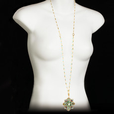 Michal Golan Kasbah Flower Long Necklace
