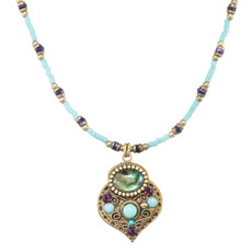 Michal Golan Kasbah Motif Necklace