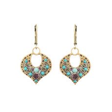 Michal Golan Kasbah Open Motif Earrings
