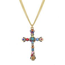 Michal Golan Cosmic Cross Necklace