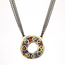 Michal Golan Cosmic Open Circle on Chain Necklace
