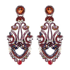 Ayala Bar Ruby Tuesday Raspberry Fizz Earrings