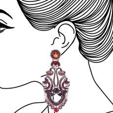 Ayala Bar Ruby Tuesday Raspberry Fizz Earrings - New Arrival