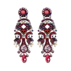 Ayala Bar Ruby Tuesday Scarlet Smile Earrings