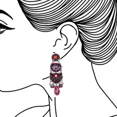 Ayala Bar Ruby Tuesday Soothing Sunset Earrings - New Arrival